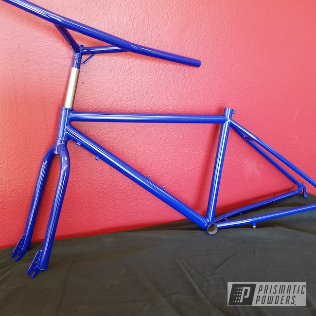 Powder Coating: Bicycles,MANHATTAN BLUE UMB-1930
