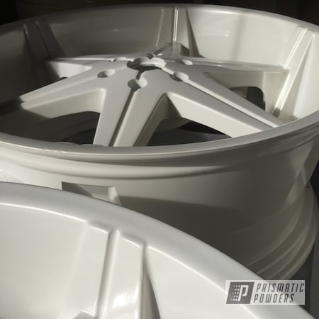 Powder Coating: Wheels,Custom Rims,Custom Wheels,Pearl White PMB-4364,Rims,Whitepearl