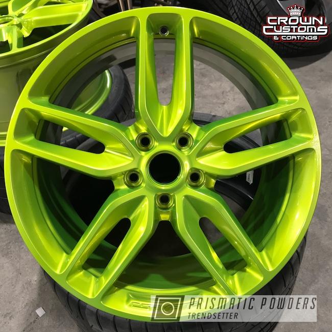 Powder Coating: Clear Vision PPS-2974,Chevrolet,Illusion Shocker PMB-10050,Corvette Wheels