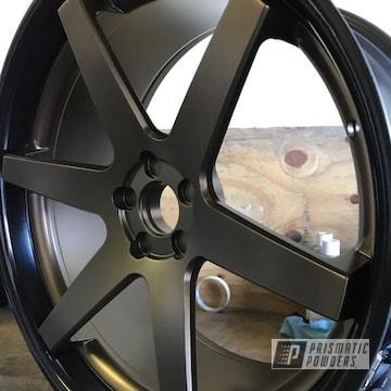 Custom Wheels Coated In Triple Bronze