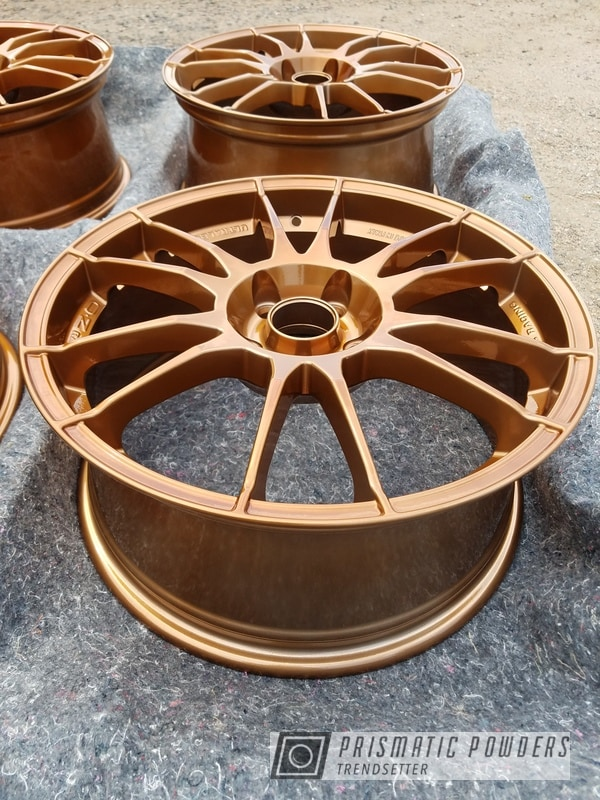 Powder Coating: Wheels,Automotive,rockin rims,Transparent Copper PPS-5162,SUPER CHROME USS-4482,Rims,Applied Plastic Coatings