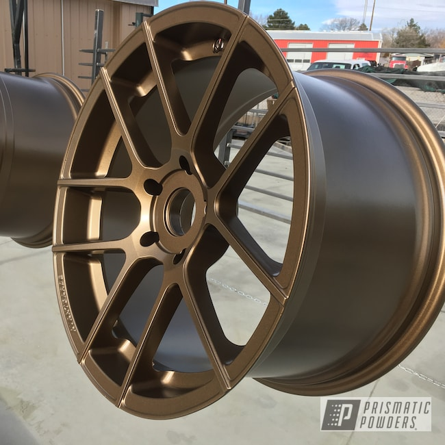 Powder Coating: Wheels,rockin rims,Applied Plastic Coatings,Highland Bronze PMB-5860,Avant-Garde Wheels