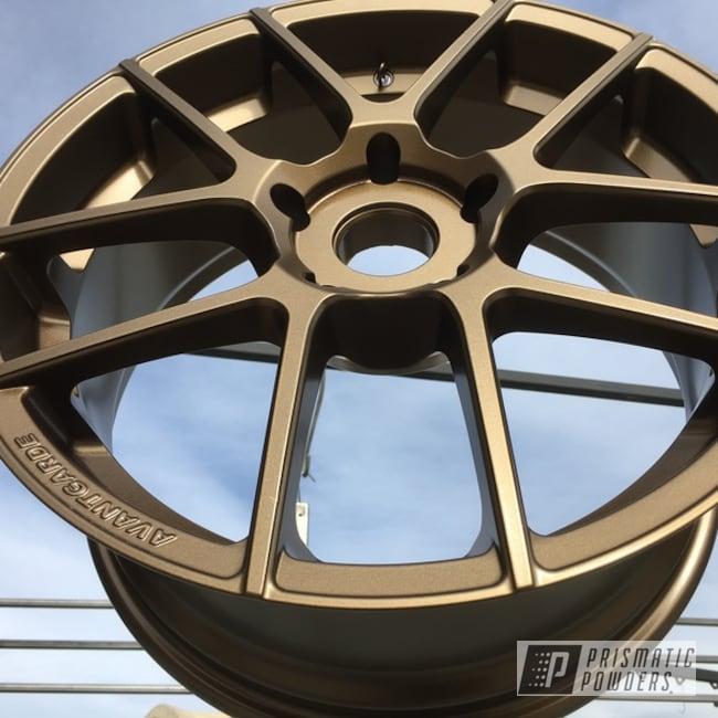 Powder Coating: Wheels,rockin rims,Applied Plastic Coatings,Highland Bronze PMB-5860,Avant-Garde Wheels