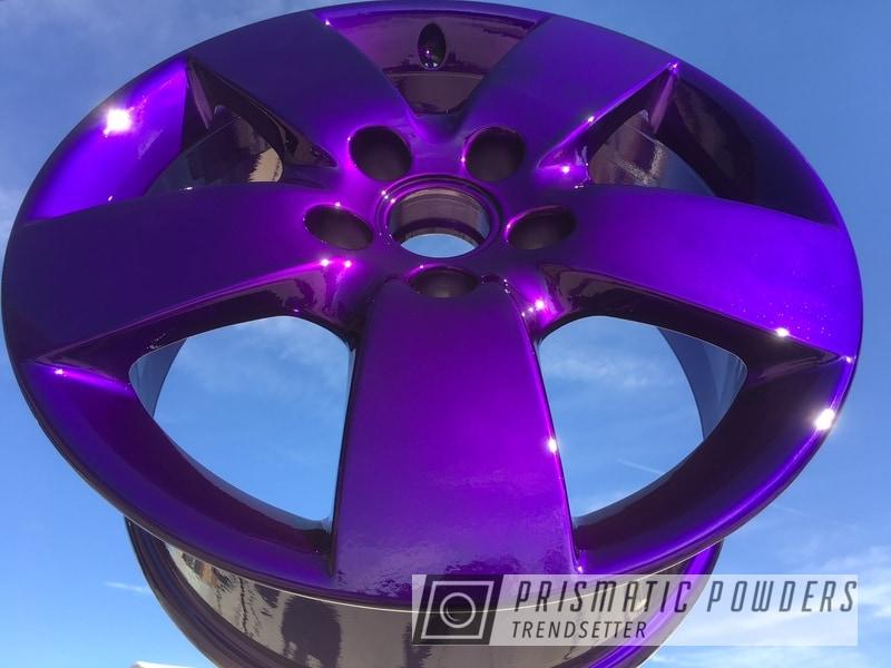 Powder Coating: Illusion Purple PSB-4629,Wheels,rockin rims,Clear Vision PPS-2974,SUPER CHROME USS-4482,Applied Plastic Coatings,Purple