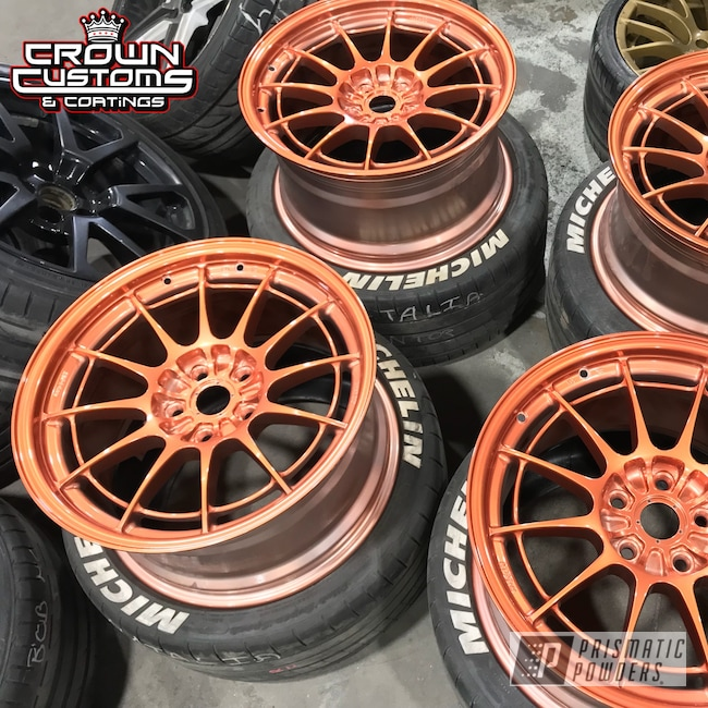 Powder Coating: Wheels,Automotive,Enkei Wheels,Clear Vision PPS-2974,ILLUSION ROSE GOLD - DISCONTINUED PMB-10047