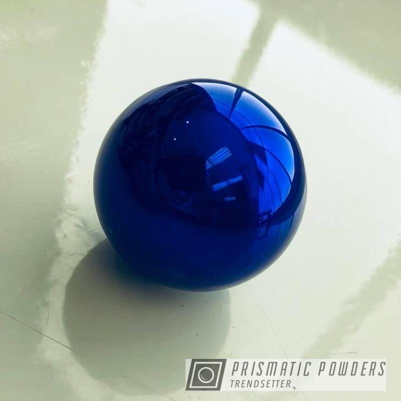 Powder Coating: Intense Blue PPB-4474,Knob,Shift