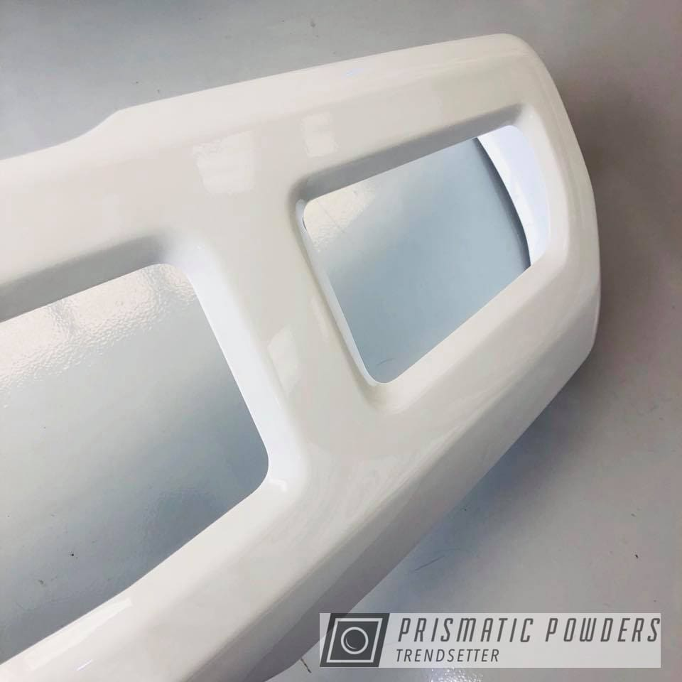 Powder Coating: Polar White PSS-5053,F-250,Bumper