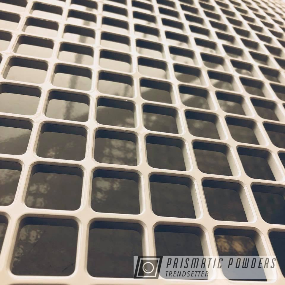 Powder Coating: Putco,Polar White PSS-5053,Automotive Front Grille,F-250,Ford