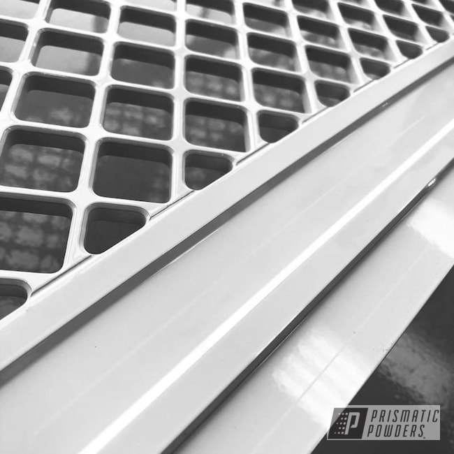 Powder Coating: Putco,Polar White PSS-5053,Automotive Front Grille,F-250,Ford