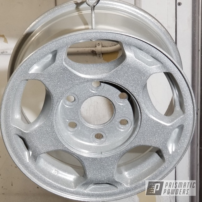 Powder Coating: Custom Rims,Silver Oar PMS-2899,Epoxy Primer ESS-6518