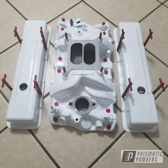 Powder Coating: Polar White PSS-5053,intake