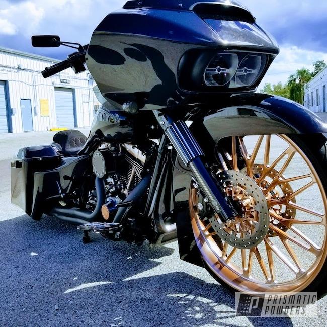 Powder Coating: Bad Bagger,Custom Motorcycle Wheels,Motorcycles,Custom Motorcycle Accents,Flash Rust PPB-6930