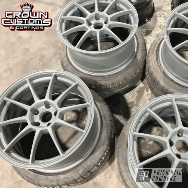 Wheels Done In Matte Gravel Grey