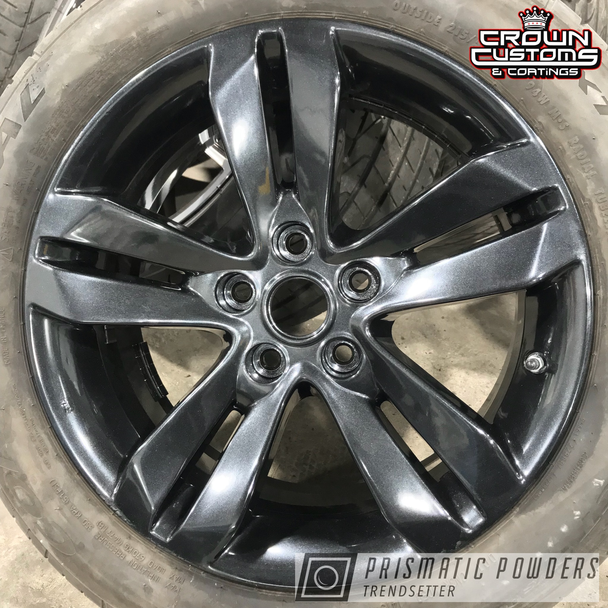 Powder Coating: Wheels,Automotive,JAMAICAN ICE UMB-1146