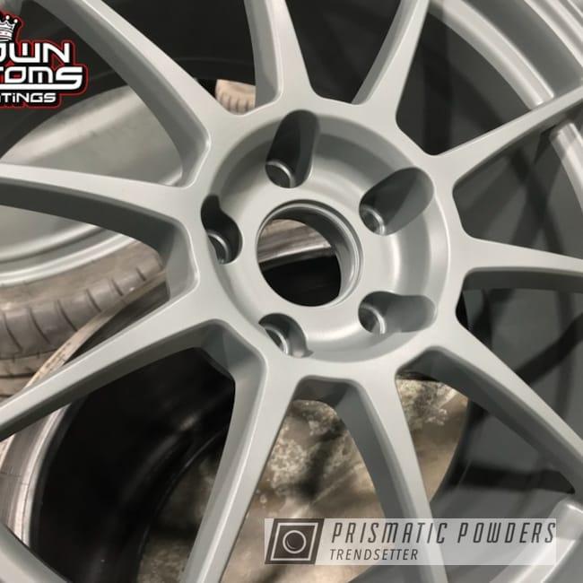 Custom Wheels Done In Matte Gravel Grey