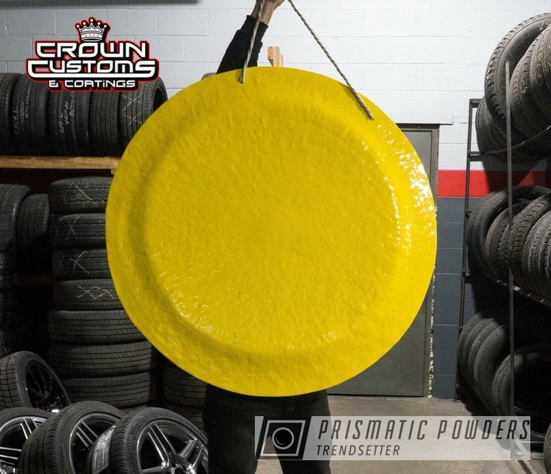 Powder Coating: Gong,Sunshine Yellow PSS-2600,Miscellaneous