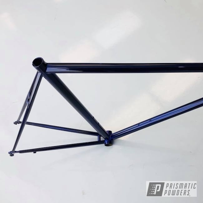 Powder Coating: Bicycles,Bike Frame,Super Chrome USS-4482,Lollypop Purple PPS-1505,Frame