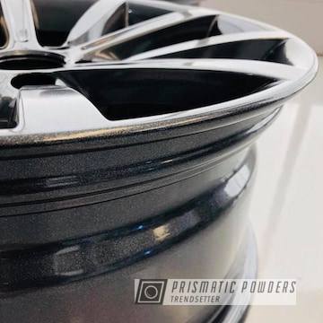 Bmw Wheels With Cadillac Grey Makeover