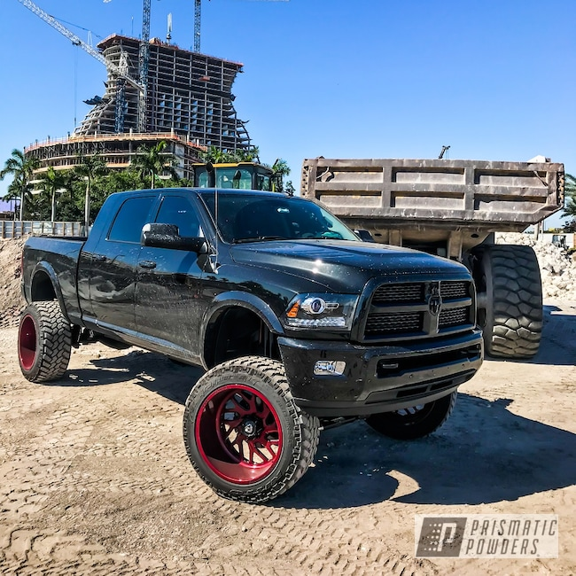 Powder Coating: Forged Wheels,Horn Blasters,8 Inch Lift,Fuel Offroad Wheels,Lift Kit,Illusion Cherry PMB-6905,Train Horn,24x14,Fuel Forged,BDS Suspension,Fuel Offroad,K5LA