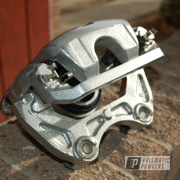 Brake Calipers In Heavy Silver And Clear Vision