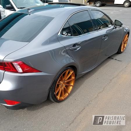 Powder Coating: Wheels,Automotive,Lexus,Transparent Copper PPS-5162,Rims,20' Wheels,Vertini,Powder Coated Lexus Wheels
