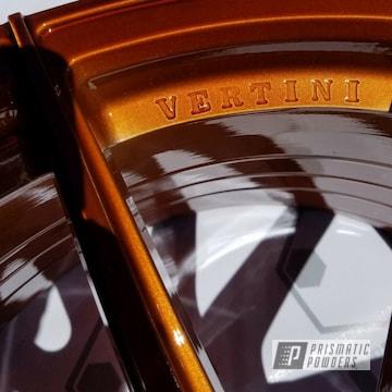 Vertini Wheels Coated In A Transparent Copper