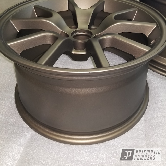 Powder Coating: MATTE CLEAR PPB-4509,Wheels,Automotive,TRIPLE BRONZE UMB-4548