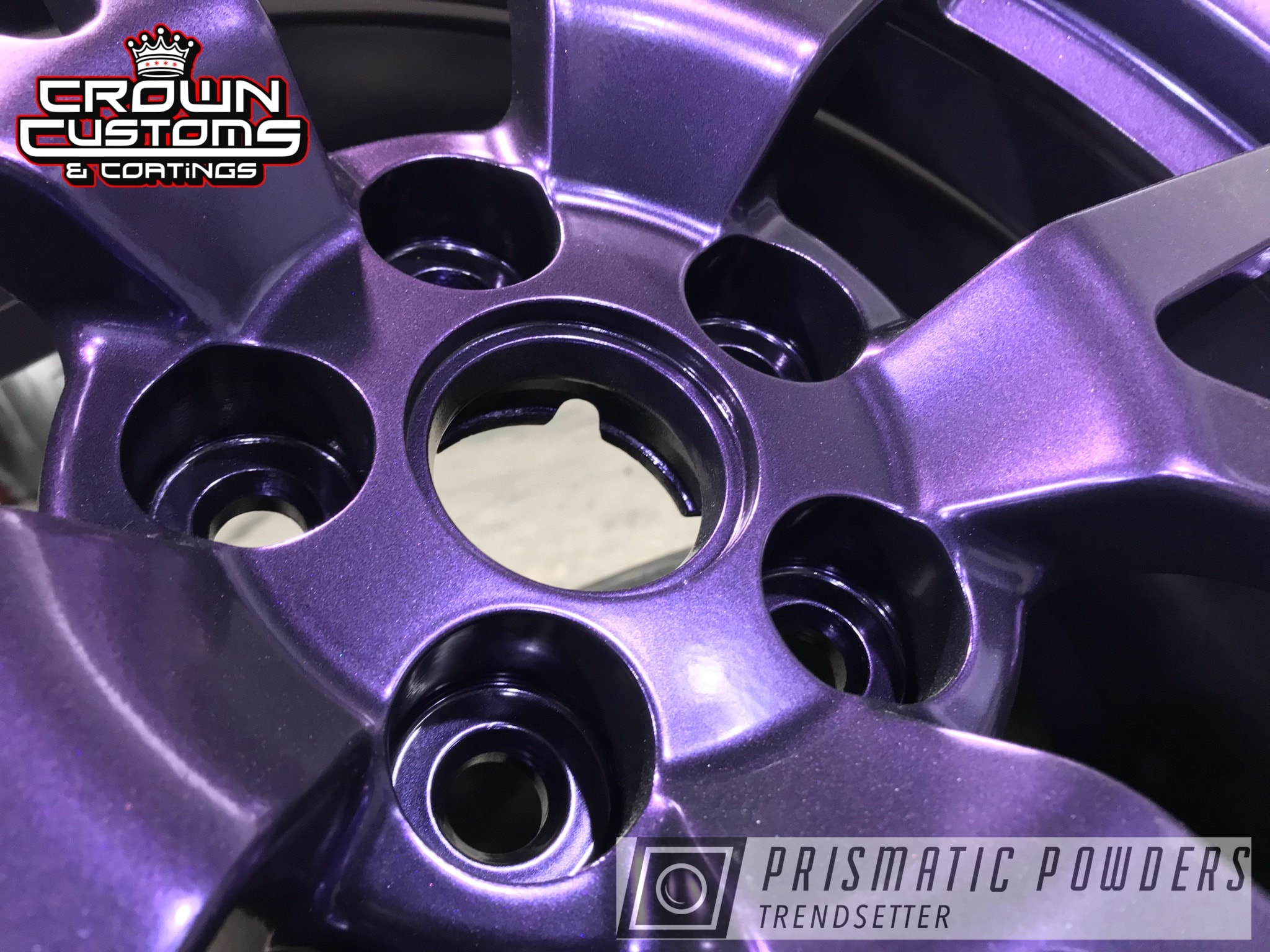 Powder Coating: Wheels,Automotive,CTS-V Wheels,EXTREME PURPLE UMB-2599,purple