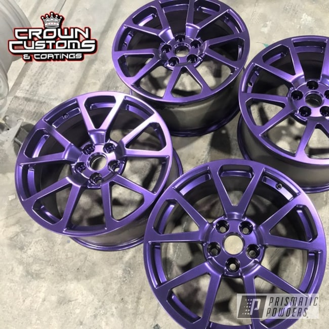 Cts V Wheels Done In Extreme Purple