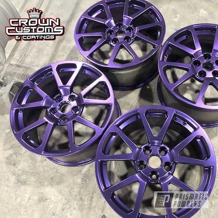 Powder Coating: Wheels,Automotive,Purple,CTS-V Wheels,EXTREME PURPLE UMB-2599