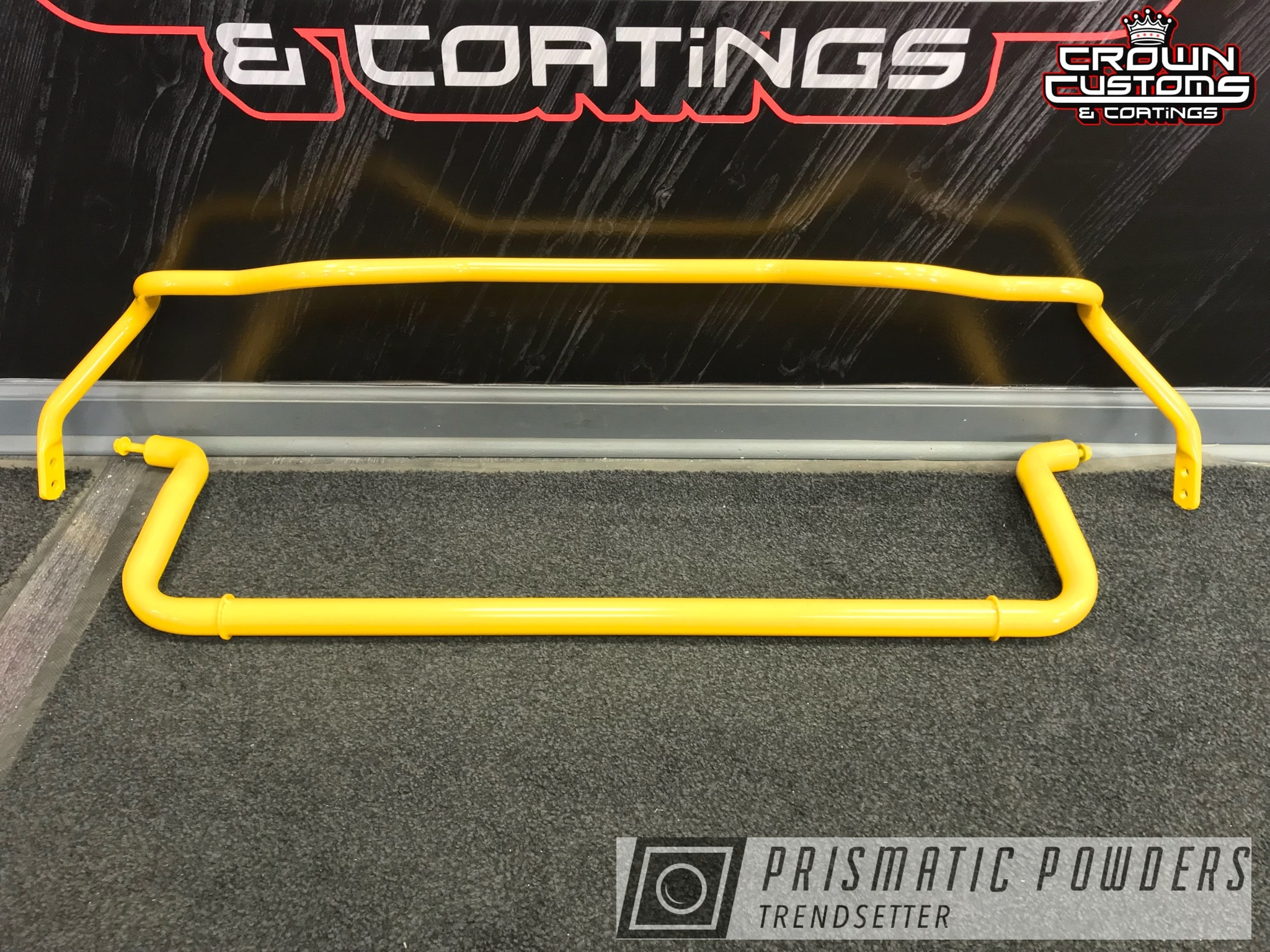 Powder Coating: Automotive,Suspension Parts,Yellow Jasper PSB-8055,Sway Bar,Suspension