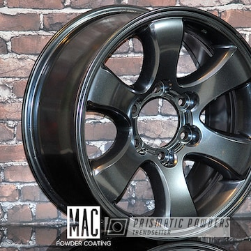 Toyota Wheels Done In A Metallic Misty Lava Finish