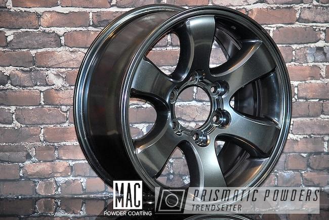 Powder Coating: Wheels,Automotive,Misty Lava,Toyota Wheels,Misty Lava PMB-4217,Metallic Powder Coating