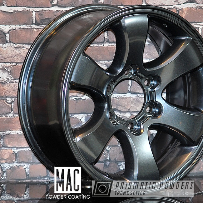 Powder Coating: Wheels,Automotive,Misty Lava,Toyota Wheels,Misty Lava PMB-4217,Metallic Powder Coating