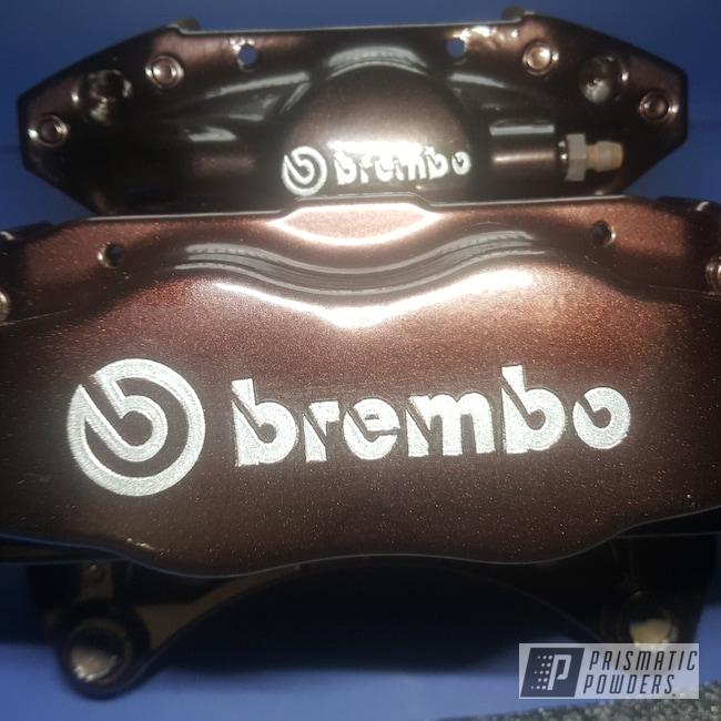 Powder Coating: Calipers,Brakes,Penny Chips PMB-6796,Brembo Brakes,Brembo Brake Calipers,Custom Brake Calipers