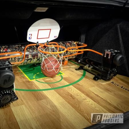 Powder Coating: Air Tank,Automotive,Custom Automotive,New Tucker Orange PMB-4209,Air Ride,Air Lines,Super Sonics,Air Lift,hard lines,Miscellaneous