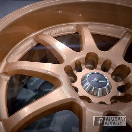 Powder Coating: Wheels,Automotive,Fireside Copper PMB-4934,Rims,Work Wheels
