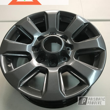 Powder Coating: Wheels,Automotive,Heavy Steel PMS-1366