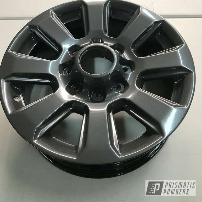 Powder Coating: Wheels,Automotive,Heavy Steel PMS-1366