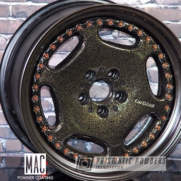 Customized Carlsson Three Piece Wheels Done In A Multi Coat Finish