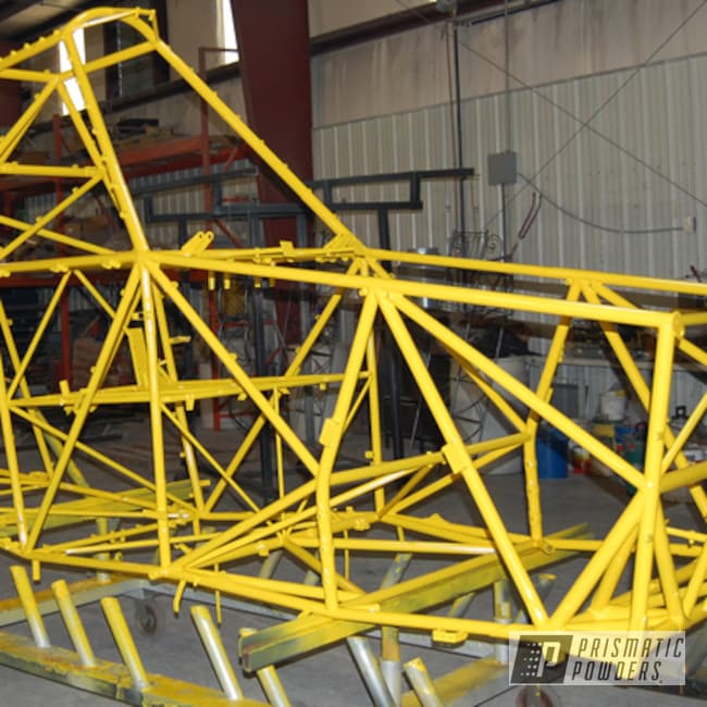 Powder Coating: crop duster,Airplane,Yes Yellow PSS-5691,Aviation
