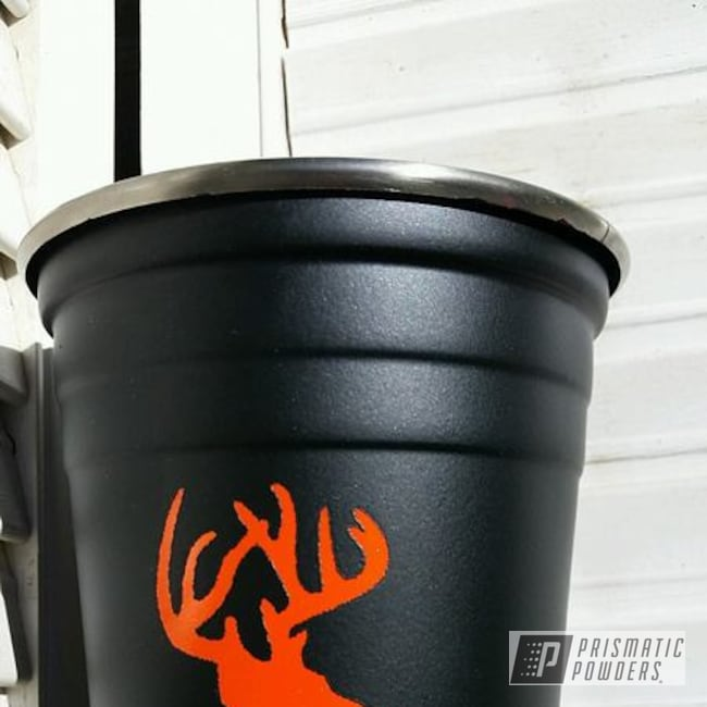 Powder Coating: Tangelo/Lite PMB-2282,Blackboard PSB-6865,Custom 2 Color Stainless Solo Cups,Miscellaneous
