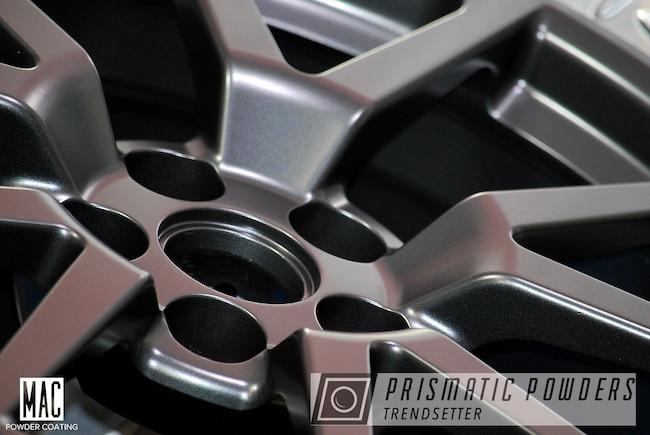 Powder Coating: Wheels,Automotive,Cadillac CVS,Graphite Black I PMB-4188,Pearl Black Wheels