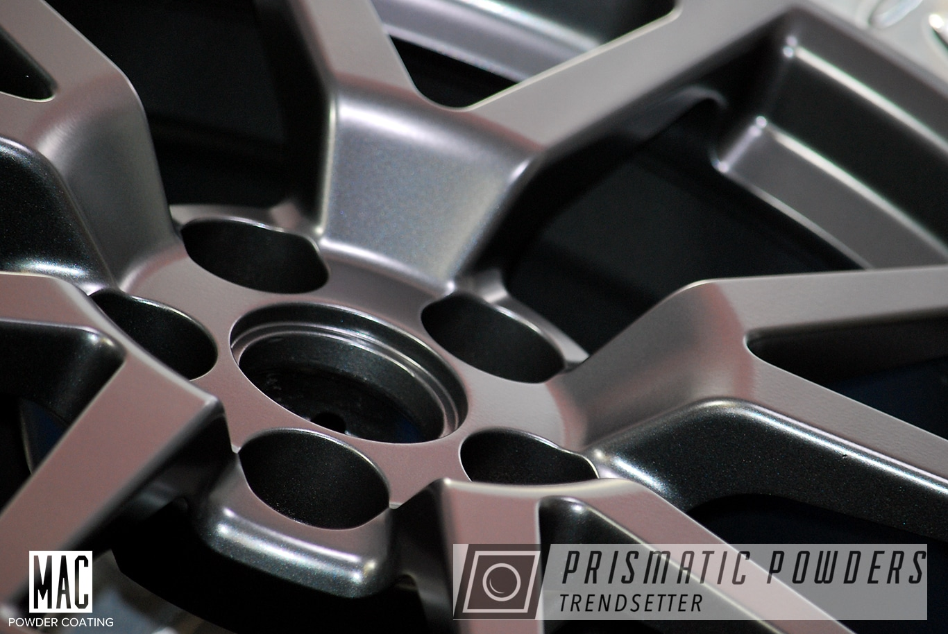 Powder Coating: Wheels,Automotive,Cadillac CVS,Graphite Black I PMB-4188,Pearl Black Wheels