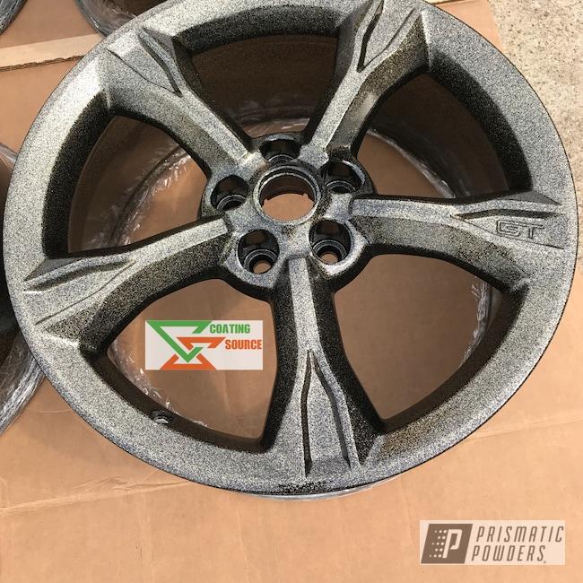 Powder Coating: Wheels,Automotive,Two Coat Application,Disco Dunes PPB-7049