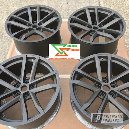 Powder Coating: Wheels,Automotive,Chevy Camaro,Two Coat Application,Casper Clear PPS-4005,Chevy Camaro Wheels,Camaro Wheels,US BURNT BRONZE UMB-0492,Camaro