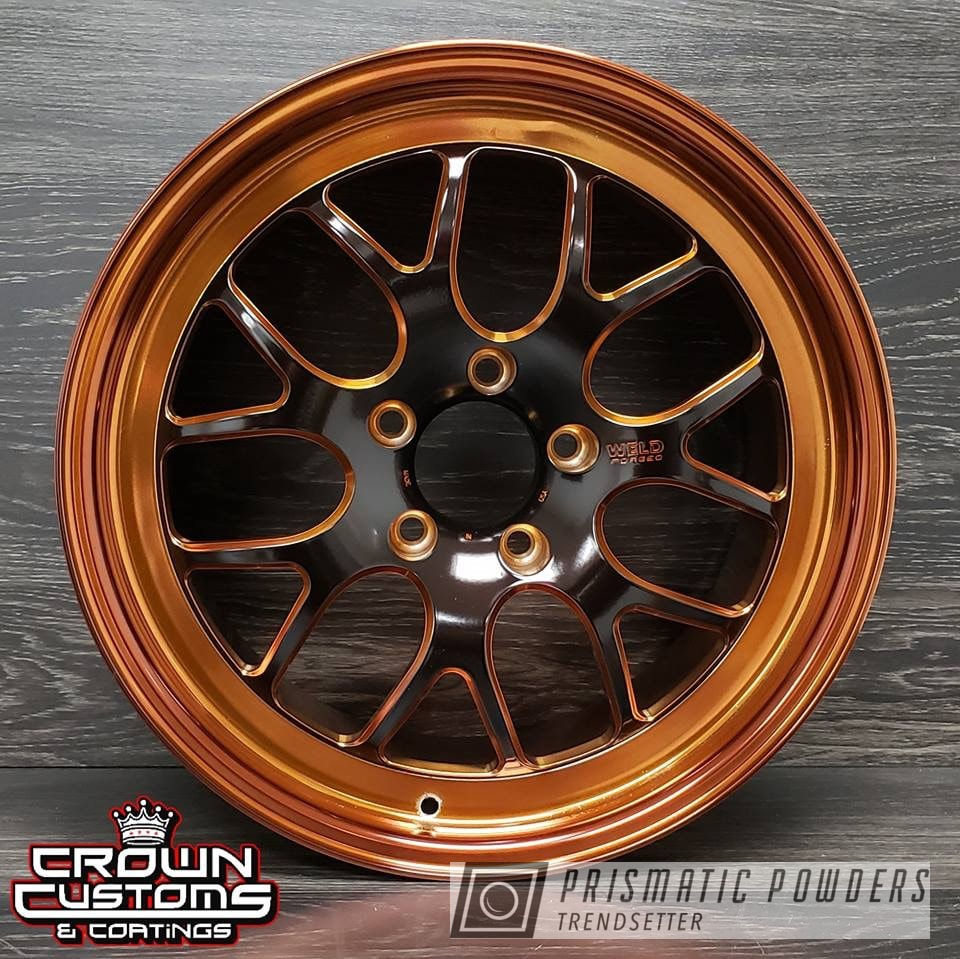 Powder Coating: Wheels,Automotive,Transparent Copper PPS-5162,WELD Wheels