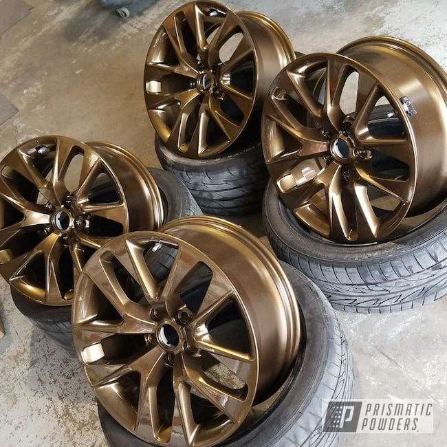 Used Ford Raptor >> Powder Coated Wheels in a Bronze Chrome Finish | Gallery ...