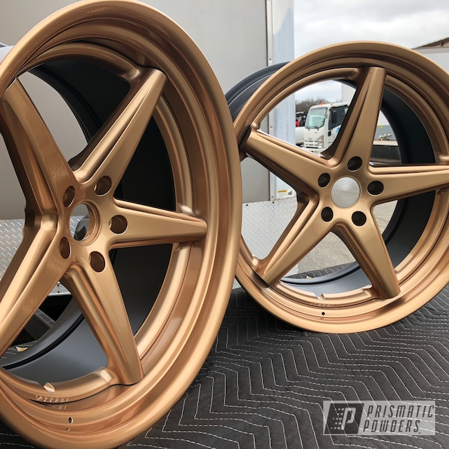 Powder Coating: Illusion True Copper PMB-10044,Wheels,Vossen Wheels,Automotive,Clear Vision PPS-2974