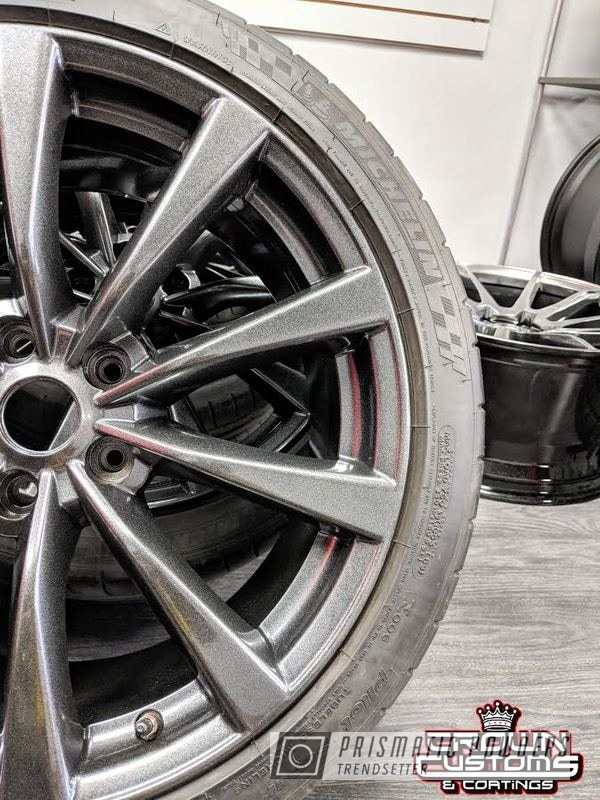 Powder Coating: Wheels,Custom Rims,Kingsport,Custom Wheels,Rims,Kingsport Grey PMB-5027,Aftermarket